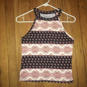 Summer Patterned Tank Top